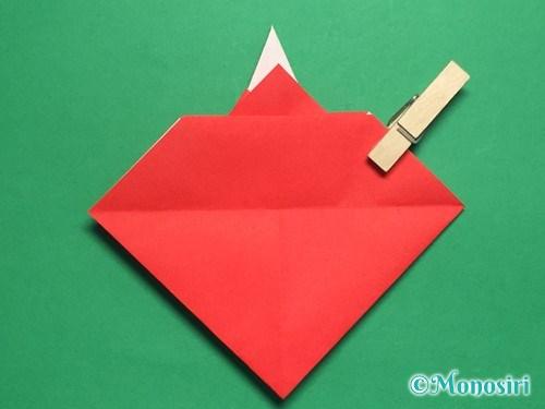 折り紙でお内裏様とお雛様の折り方手順32