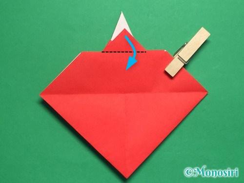 折り紙でお内裏様とお雛様の折り方手順33
