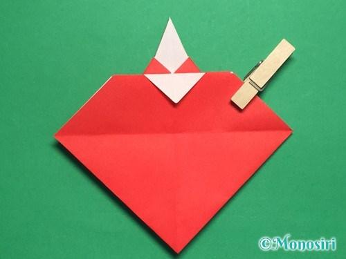 折り紙でお内裏様とお雛様の折り方手順34