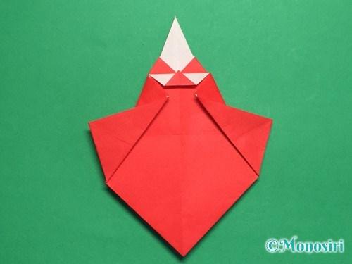 折り紙でお内裏様とお雛様の折り方手順40