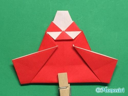 折り紙でお内裏様とお雛様の折り方手順44