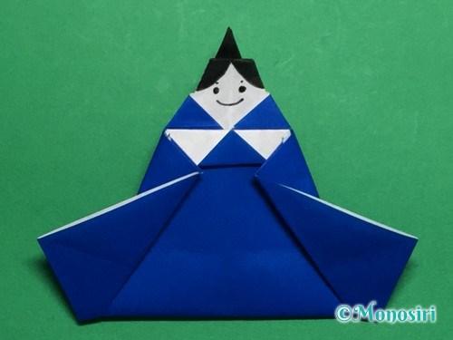 折り紙でお内裏様とお雛様の折り方手順47