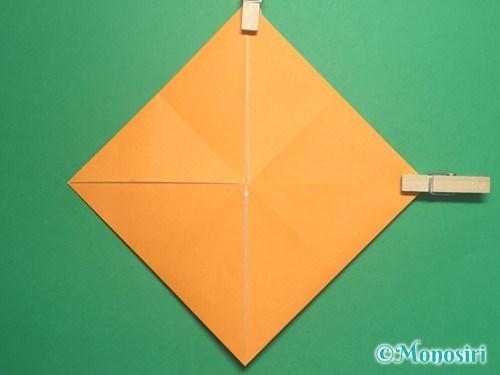 折り紙で脚付き三方の折り方手順6