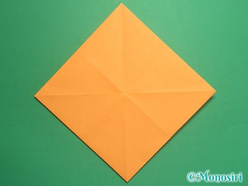 折り紙で脚付き三方の折り方手順7