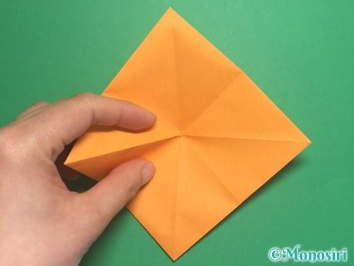 折り紙で脚付き三方の折り方手順8