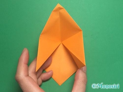 折り紙で脚付き三方の折り方手順9