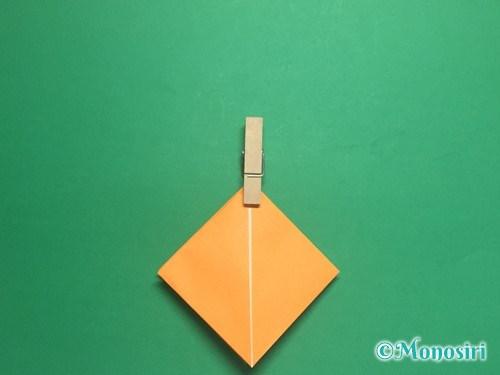 折り紙で脚付き三方の折り方手順11