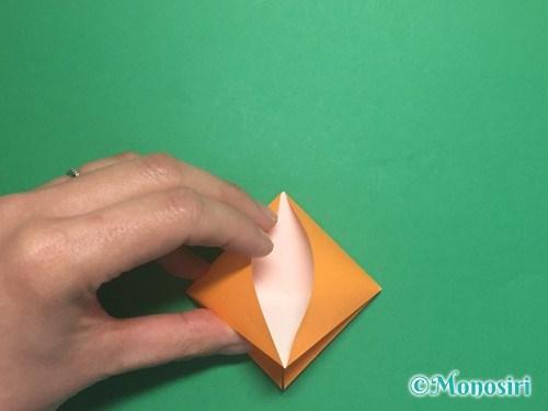 折り紙で脚付き三方の折り方手順12