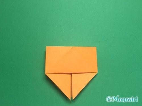 折り紙で脚付き三方の折り方手順14