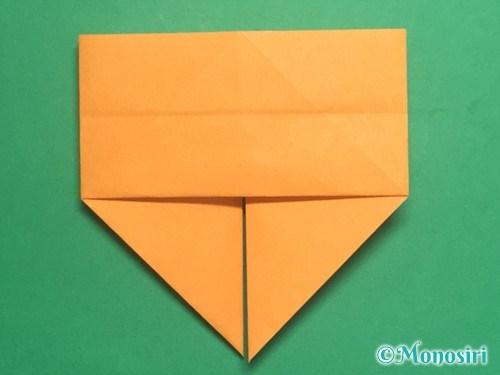 折り紙で脚付き三方の折り方手順17