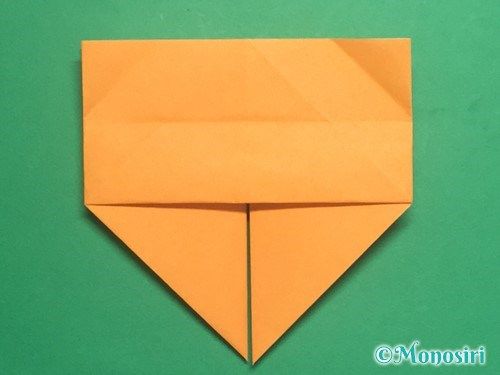 折り紙で脚付き三方の折り方手順19