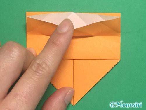 折り紙で脚付き三方の折り方手順20