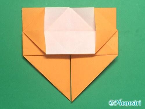 折り紙で脚付き三方の折り方手順23