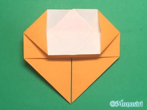 折り紙で脚付き三方の折り方手順24