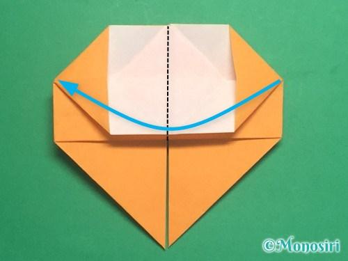 折り紙で脚付き三方の折り方手順25