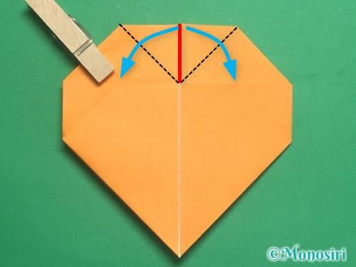 折り紙で脚付き三方の折り方手順27