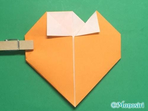 折り紙で脚付き三方の折り方手順28
