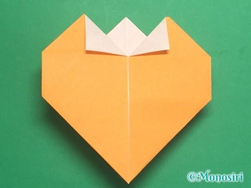 折り紙で脚付き三方の折り方手順29
