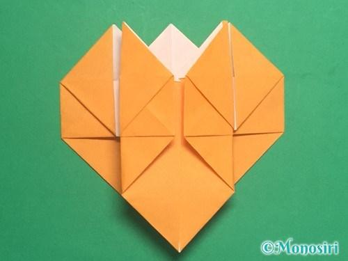 折り紙で脚付き三方の折り方手順31