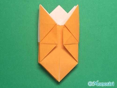 折り紙で脚付き三方の折り方手順32