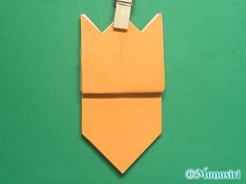 折り紙で脚付き三方の折り方手順34