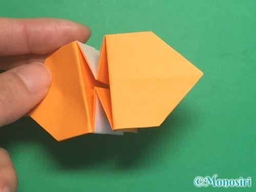 折り紙で脚付き三方の折り方手順36