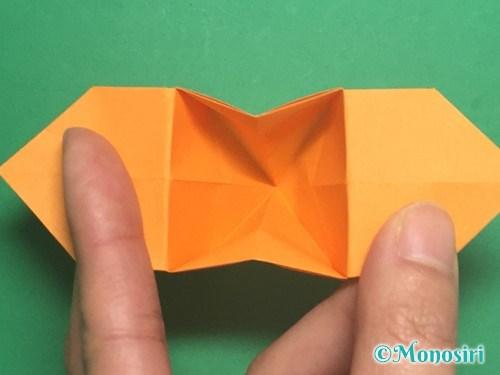 折り紙で脚付き三方の折り方手順37