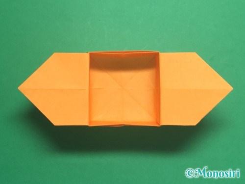 折り紙で脚付き三方の折り方手順38