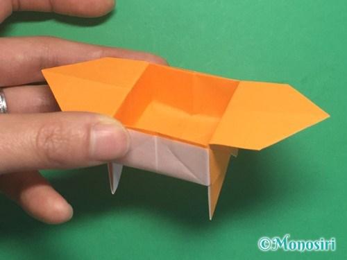 折り紙で脚付き三方の折り方手順39