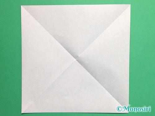 折り紙でパッチンカメラの折り方手順2