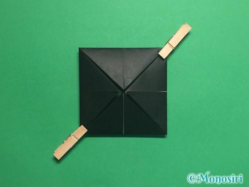 折り紙でパッチンカメラの折り方手順7