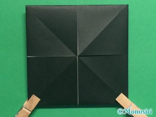 折り紙でパッチンカメラの折り方手順8