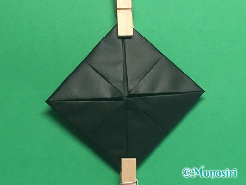 折り紙でパッチンカメラの折り方手順10