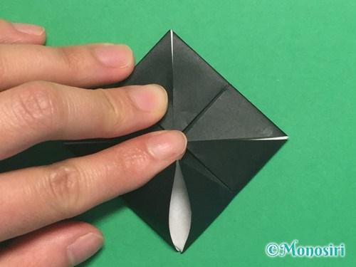 折り紙でパッチンカメラの折り方手順12
