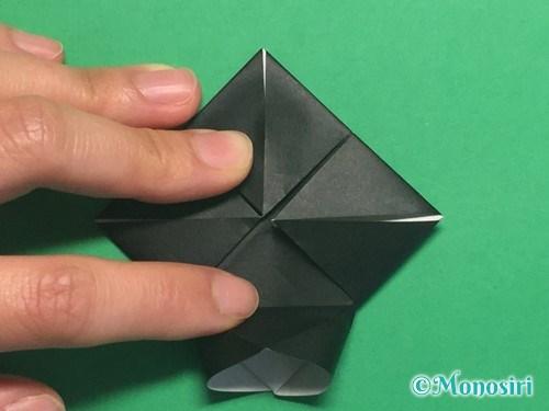 折り紙でパッチンカメラの折り方手順13