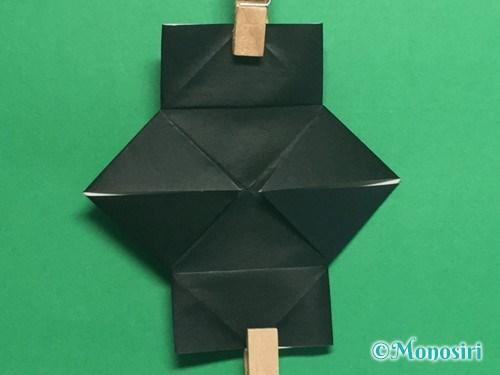 折り紙でパッチンカメラの折り方手順15