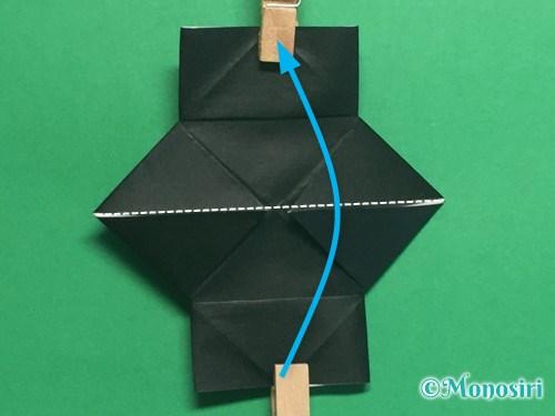 折り紙でパッチンカメラの折り方手順16