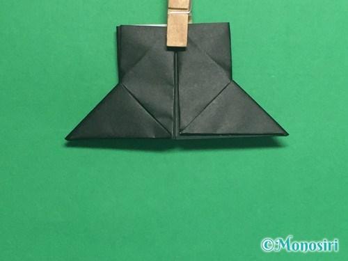 折り紙でパッチンカメラの折り方手順17