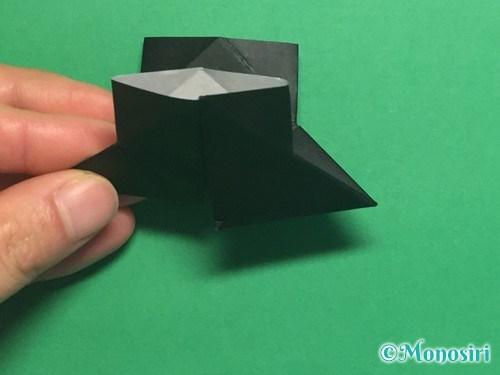 折り紙でパッチンカメラの折り方手順18