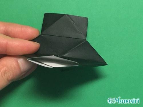 折り紙でパッチンカメラの折り方手順19