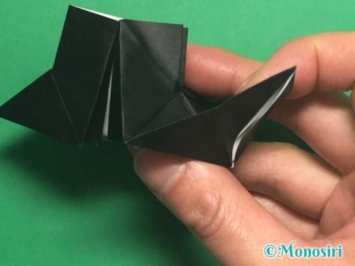 折り紙でパッチンカメラの折り方手順21
