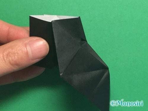 折り紙でパッチンカメラの折り方手順23