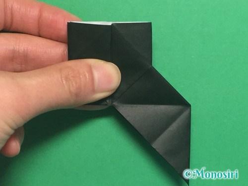 折り紙でパッチンカメラの折り方手順24