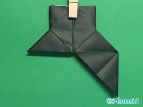 折り紙でパッチンカメラの折り方手順25