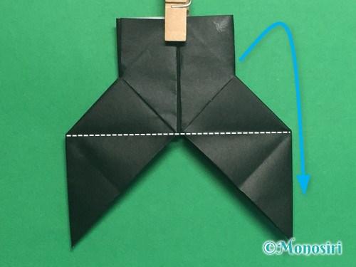 折り紙でパッチンカメラの折り方手順27