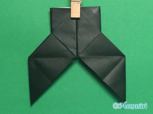 折り紙でパッチンカメラの折り方手順26