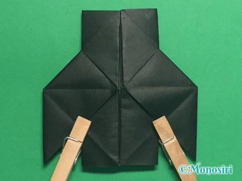 折り紙でパッチンカメラの折り方手順28