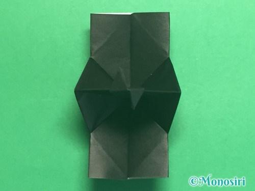 折り紙でパッチンカメラの折り方手順33