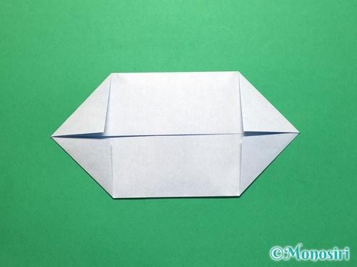 折り紙でボートの折り方手順6