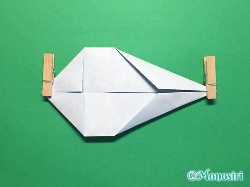 折り紙でボートの折り方手順8